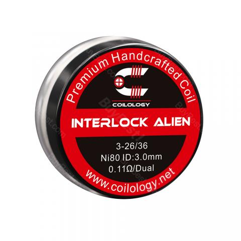 cheap Coilology Interlock Alien 2pcs/pack - SS 0.08ohm
