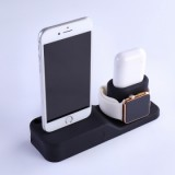 ET 4 In 1 Multi Charging Dock Stand for Apple watch/iPhone/Apple pencil/ AirPods - Black-2