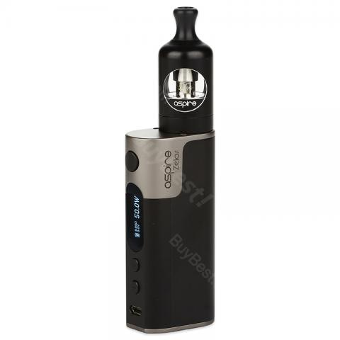 cheap 50W Aspire Zelos Kit 2500mAh with Nautilus 2 Tank - Black Standard Edition