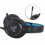 Vapeonly K9 RGB Headset For S4/Xbox One/PS4 Pro/PS4/PS 4 Slim - Black/Blue-4