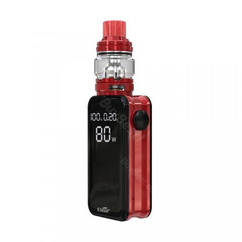 cheap Eleaf iStick Nowos Kit with ELLO Duro Tank 6.5ml/2ml - Red 6.5ml
