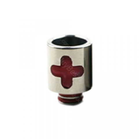 cheap  Stainless Steel Resin Cross 510 Drip Tip 0280 - Type A