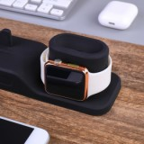 ET 4 In 1 Multi Charging Dock Stand for Apple watch/iPhone/Apple pencil/ AirPods - Black-5