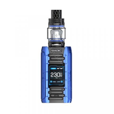 cheap 230W Smok E-Priv Kit with TFV12 Prince, Black/Blue Standard Edition