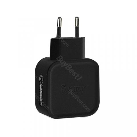cheap Avatar QC2.0 Quick Charger - Black US plug