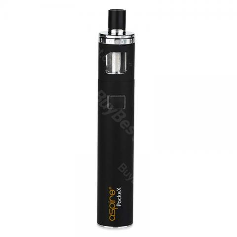 cheap Aspire PockeX Pocket AIO Starter Kit - 1500mAh, Black Standard Edition