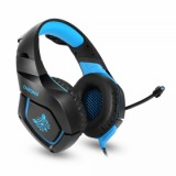 Vapeonly Single Jack Gaming Headset for PS4 Xbox1 with Omnidirectional Microphone - Black/Blue-1