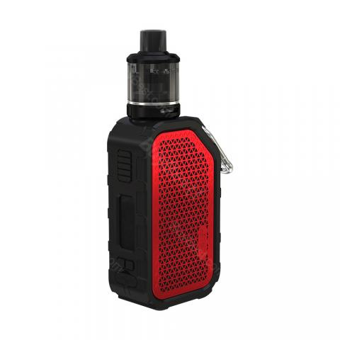 cheap WISMEC Active Bluetooth Music TC Kit 2100mA with 3ml Amor NSE Tank - Red Type A