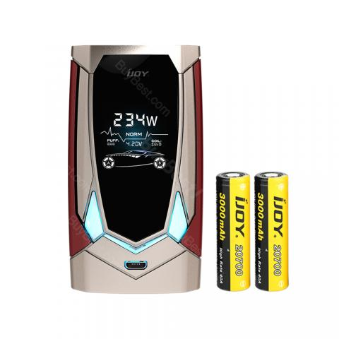 cheap 234W IJOY Avenger PD270 TC Box MOD 6000mAh - Champagne Gold
