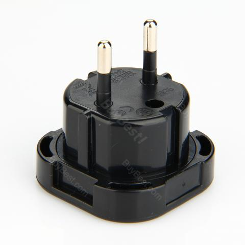 Universal International UK To EU Plug Adapter