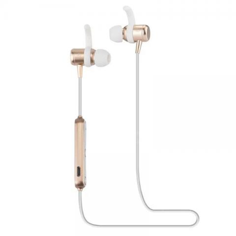 cheap Viasun M2 Magnetic Bluetooth Earphone - Gold