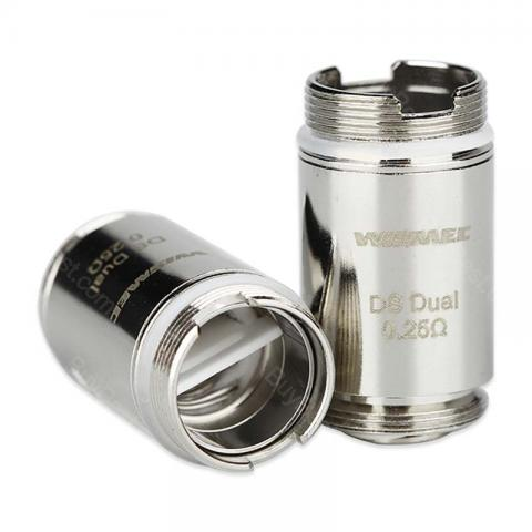 cheap Wismec DS NC/Dual Coil for ORMA/Motiv 5pcs/pack - Dual 0.25ohm