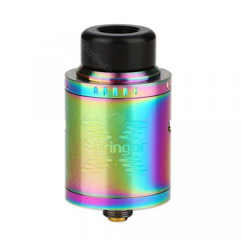 cheap Tigertek Spring X RDA - 2ml, Rainbow