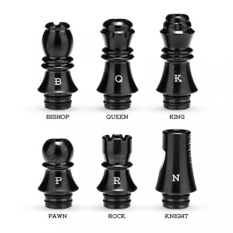 KIZOKU Chess Series Drip Tips 6pcs/pack