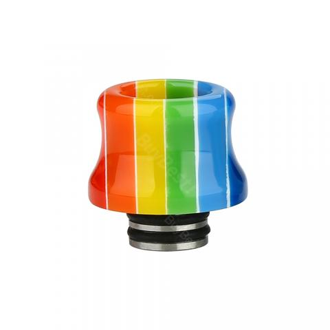 cheap Resin Stainless Steel 510 Drip Tip 0316