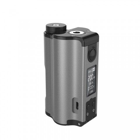 cheap 200W DOVPO Topside Dual TC Squonk MOD Top Fill MOD - Silver Standard Edition