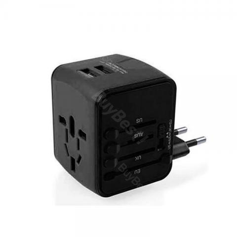 Travel Adapter with LED for USA/AUS/UK/EU