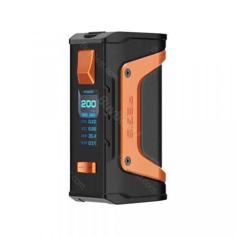 cheap 200W GeekVape Aegis Legend TC Box MOD - Black/Orange