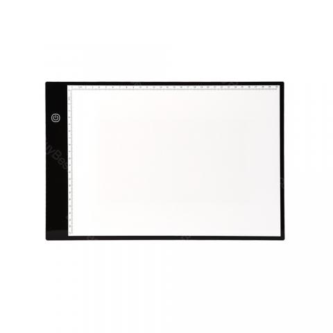 cheap Writing Painting Light Box Tracing Pads Digital Drawing Tablet - Black/White Type A
