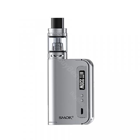 cheap 220W SMOK OSUB King TC Vape Kit with TFV8 Big Baby Tank - Silver EU Edition