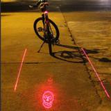 RD-1 Bicycle Projection Tail Light-4