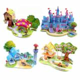 Enjoybay PT-1 3D Paper Houses Puzzle Toy-4