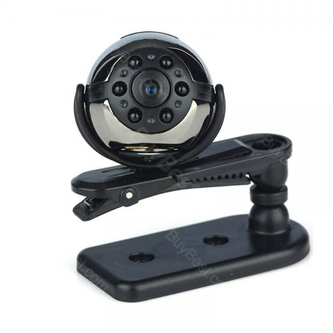 cheap SQ9 360 Degree Rotating HD Mini Camera 1080P Full HD Camcorder - Black