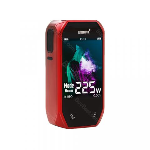 cheap 225W Smoant Naboo TC Mod - Red