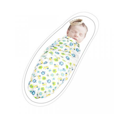 cheap Soft Cotton Baby Swaddle Wrap Blanket