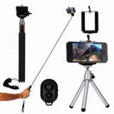 ET 10 In 1 Mobile Phone Universal Lens Selfie Stick 8X/12X - Black 12X-1