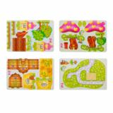 Enjoybay PT-1 3D Paper Houses Puzzle Toy-5
