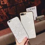 ET SJ-3 Conch Plating Phone Case for iphone, White Type A-1