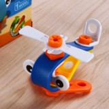 Enjoybay Building Block Soft Assembly Screw Tool Education Toy - Type A-2