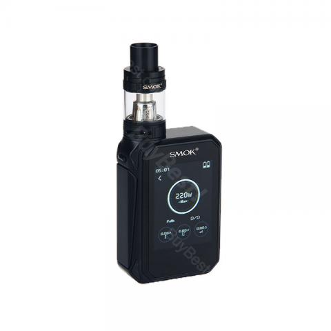 cheap SMOK G-PRIV 220 Touch Screen Kit with TFV8 Big Baby Tank, Black
