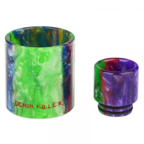Demon Killer Resin Tube & Drip Tip for TFV8 Tank