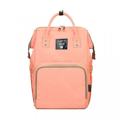 cheap Diaper Bag Maternity Mummy Nappy Backpack - Pink