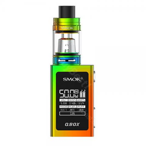 cheap SMOK QBOX TC Kit 1600mAh with TFV8 Baby Tank - Full Color Standard Edition