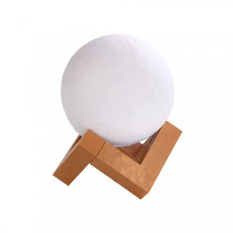 cheap G&T 3D Printed Moon Light for Home Christmas Decoration - White 180mm