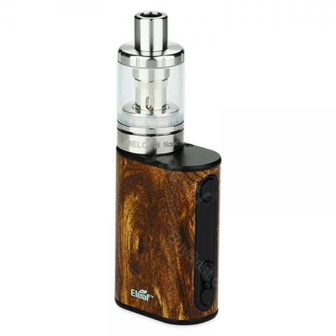 cheap 40W Eleaf iStick Power Nano Kit 1100mah with Melo 3 Nano Tank - Wood