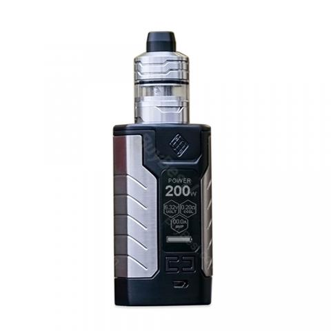 cheap WISMEC SINUOUS FJ200 4600mAh Kit with Divider Tank - Black 4ml