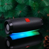 Vapeonly Wireless LED Portable Bluetooth Speaker with Color Changing - Black-5