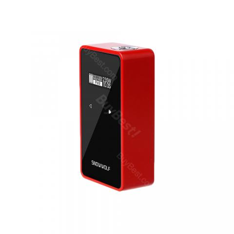 cheap 200W SNOWWOLF C TC MOD  - Red