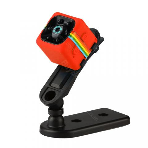 cheap SQ11 Mini Camera HD Camcorder for FPV 120-degree  Wide View, Red
