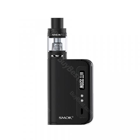 cheap 220W SMOK OSUB King TC Vape Kit with TFV8 Big Baby Tank - Black Standard Edition