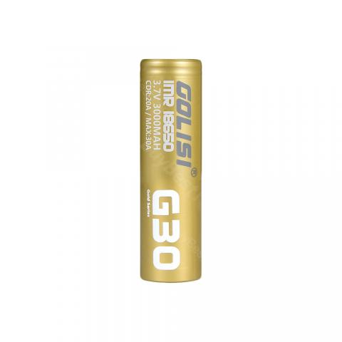 Golisi G30 IMR 18650 High-drain Li-ion Battery 20A 3000mAh