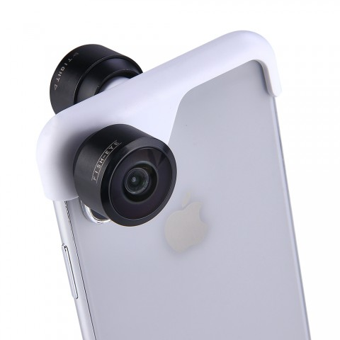 360 Panoramic Camera Dual Lens for iPhone X/iPhone 7 Plus/8 Plus/iPhone 7/8