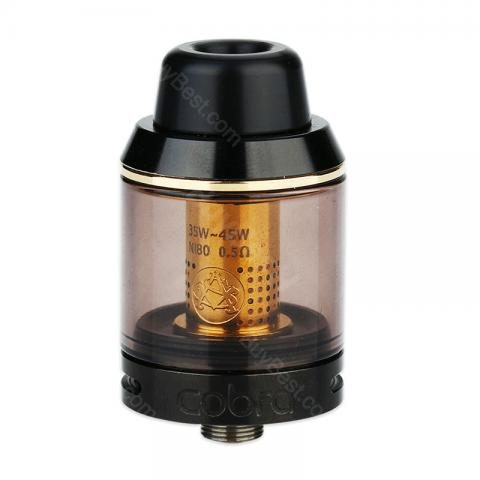 cheap Asvape Cobra Sub Ohm Tank Atomizer - 3.8ml, Black
