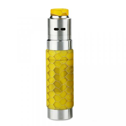 cheap WISMEC Reuleaux RX Machina 20700 Mech Kit with Guillotine RDA - Yellow
