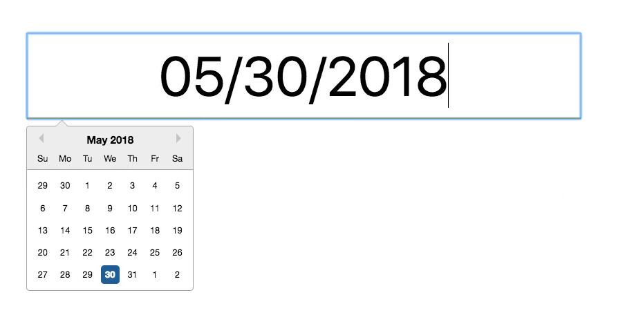 Adding Styles to the React Date Picker