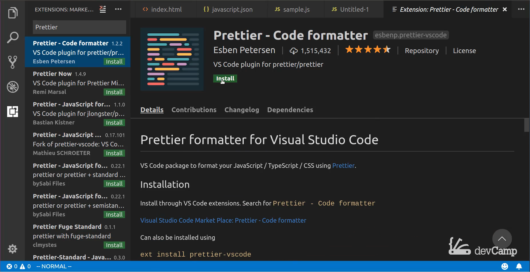 Guide to VS Code Extensions